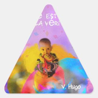 innocence. triangle sticker