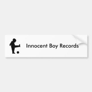 Innocent Boy Records Bumper Sticker