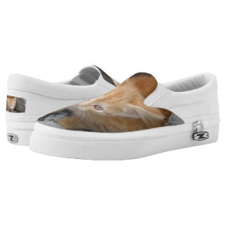 Innocent Cat Custom Zipz Slip On Shoes,Men & Women Printed Shoes
