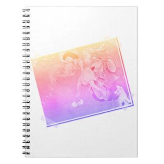 Innocent Days Spiral Notebook