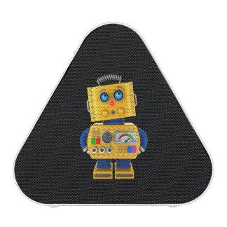 Innocent looking toy robot
