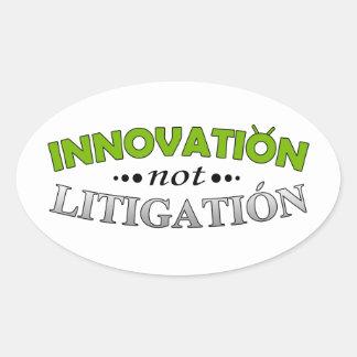 Innovation NOT Litigation Sticker