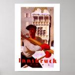 Innsbruck Austria Vintage Travel Print