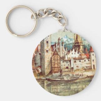 Innsbruck by Albrecht Durer Key Ring