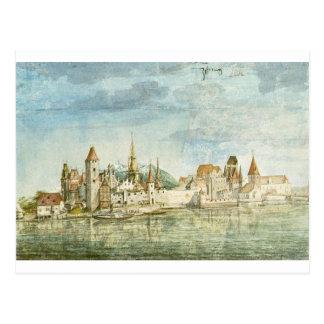 Innsbruck Seen from the North by Albrecht Durer Postcard