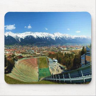 Innsbruck Ski Jump Mouse Pad
