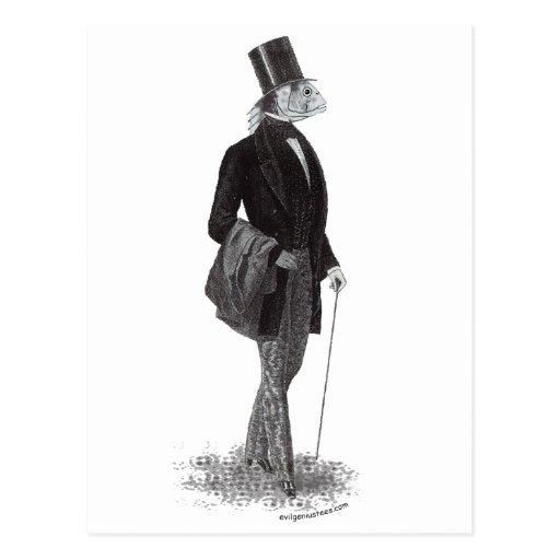 Innsmouth lovecraft gentleman postcard