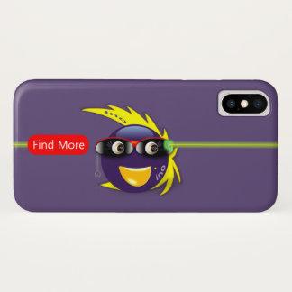 Ino AI Purple Force iPhone X Case (Purple)