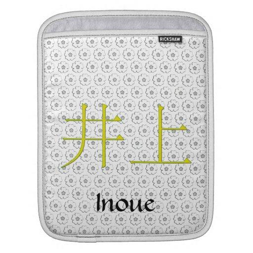 Inoue Monogram Sleeves For iPads