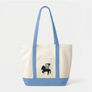 inparusutoto it is good child black tote bag