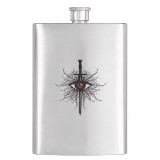 Inquisition Symbol Hip Flask