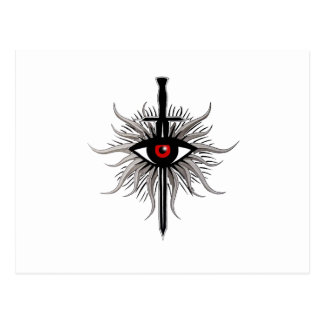 Inquisition Symbol Postcard
