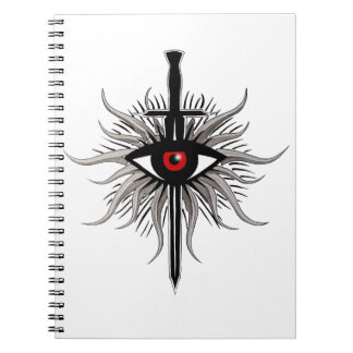Inquisition Symbol Spiral Notebook