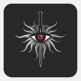 Inquisition Symbol Square Sticker