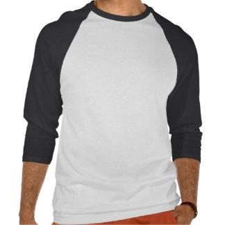 Inquisitive Emu 3/4 sleeve 2 colour T-shirt