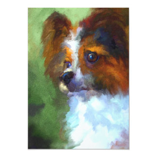 Inquisitive Papillon 5x7 Mini Prints 13 Cm X 18 Cm Invitation Card