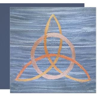 Inquisitive Party Celtic Trinity Irish Knot Trendy Card