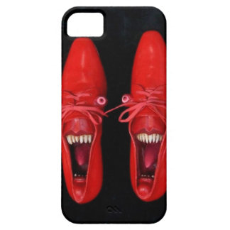 Insane Crazy Red Shoes with Teeth iPhone 5/5s Case