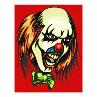 Insane Evil Clown Flyer