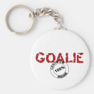 Insane Goalie Key Ring