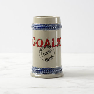 Insane Goalie Stein