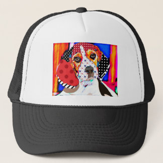 Insane person for Beagle Trucker Hat