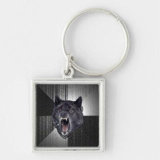 Insanity Wolf Keychain