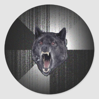 Insanity Wolf Stickers