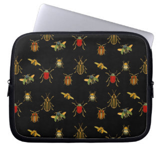 Insect Argyle Laptop Sleeves