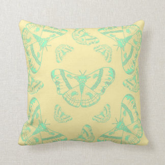 Insect Illustration - Moth/ butterfly print Cushion