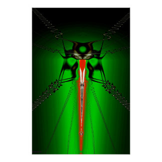 Insectoid Print
