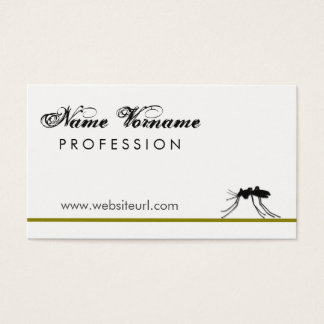 insects business card