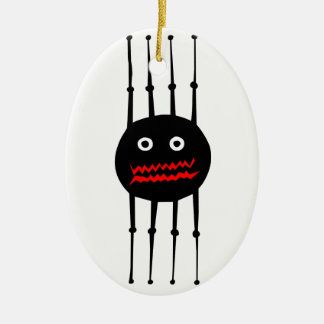 Insects fun cool graphic spider ceramic ornament