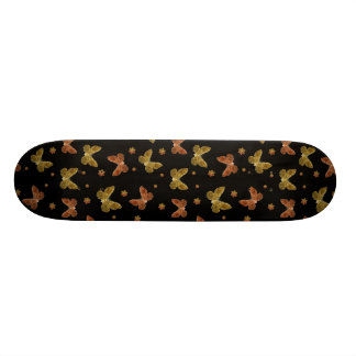 Insects Motif Pattern 21.6 Cm Skateboard Deck