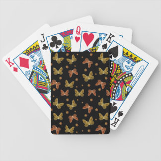 Insects Motif Pattern Bicycle Playing Cards