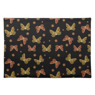 Insects Motif Pattern Placemat