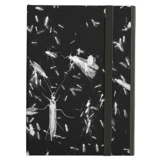 Insects on black case for iPad air