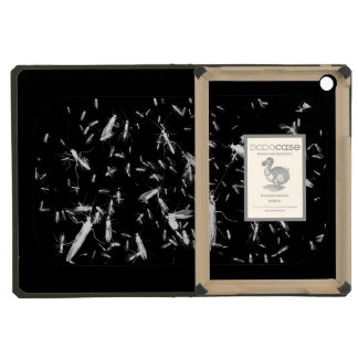 Insects on black iPad mini covers