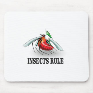 insects rule mouse pad