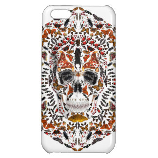 INSECTS SKULL COVER FOR iPhone 5C