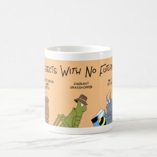Insects with no future coffee mug