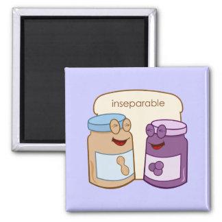 Inseparable Square Magnet