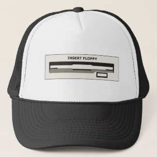 Insert Floppy Here Trucker Hat