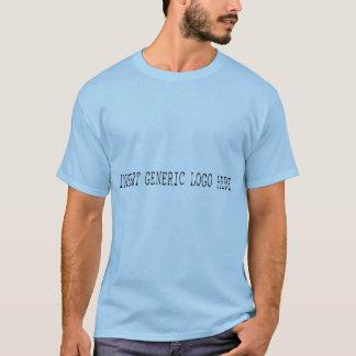 Insert Generic Logo Here - Blue Men's T-Shirt