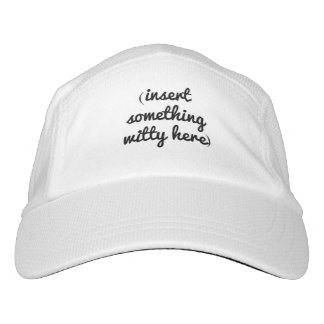 (Insert Something Witty Here) Hat