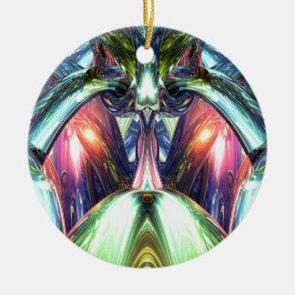 Inside A Creative Machine Ceramic Ornament