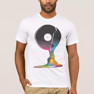 Inside a Vinyl T-Shirt