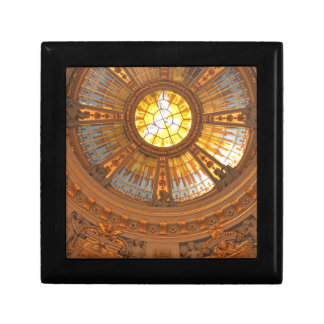 Inside Berlin Cathedral (Berliner Dom) Small Square Gift Box