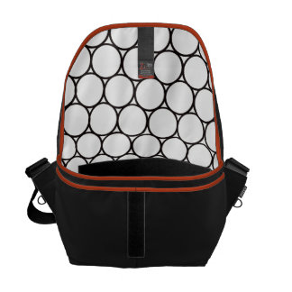 Inside Circles Courier Bags