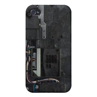 Inside electronic machine iPhone 4 case